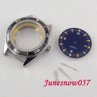 Passend für ETA 2836 41mmUhrwerk Uhrengehäuse + Blaues Zifferblatt + Zeiger
