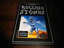 ROLLING STONES - Carte postale promo / Promo Postcard !!! BRIDGES & BABYLON !!!