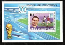 Central Africa #308 Mnh World Soccer Championship. Souvenir Sheet