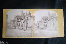 STB900 Arsenal détruit Paris ? photography stereoview photo STEREO