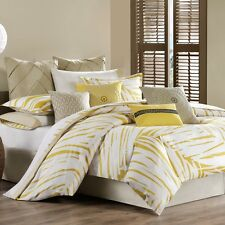 Echo Abstract palm Twin Duvet Cover -Cress Green