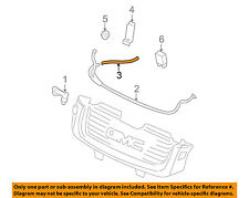 GMC GM OEM 02-09 Envoy Washer-Headlight Head Light-Washer Hose 15762537