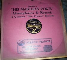78 rpm  The Magic flute   Heddle Nash