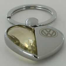 Volkswagen Half Metal Half Stone Key Chain