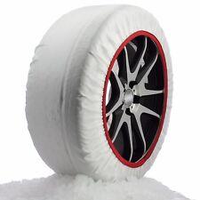 Husky Textile System Car Winter Wheel Tyre Ice, Frost & Snow Chain Socks - XL