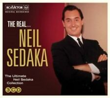 The Real... Neil Sedaka [Digipak] by Neil Sedaka (CD, Sep-2014, 3 Discs, RCA Victor)