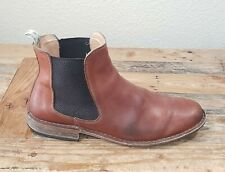 Astorflex Bitflex Chelsea Men 45 US 12 Slip On Huckberry Boot Brown Tan Leather