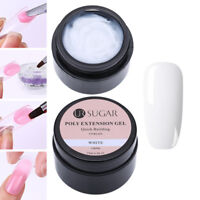 UR SUGAR 15ml Nagel Poly AcrylGel Gellack Gel UV Nail Art Tips Erweiterung White