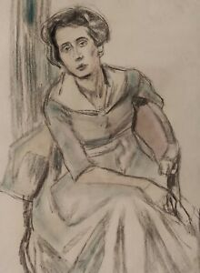 Fritz WIMMER 1879 - 1960 - Chairman Lady