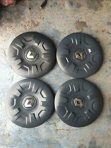 Renault master hub caps center caps wheel trims, 4x, full set, GENUINE