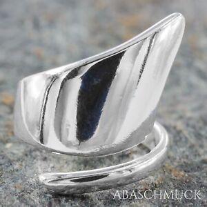 Silberring Silber 925 Ring  Verstellbar Offen R0807 🗼