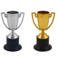 6 12 24 Plástico Oro Plata Trofeo deporte Día PRECIO Winner Bolsa Fiesta