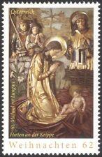 Austria 2013 Christmas/Greetings/Nativity/Art/Stable/Shepherds/Altar 1v (at1087)