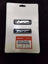 "HFP Black / Silver Decal Sticker ""Honda Factory Performance"" 08F20-TS9-100A"