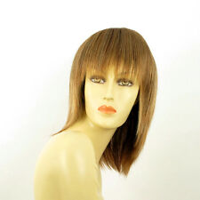 mid length wig for women brown copper wick light blond ref: FANNIE 6bt27b  PERUK