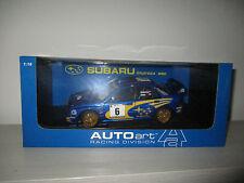 SUBARU IMPREZ WRC SCALA 1.18 AUTOART RACING DIVISION