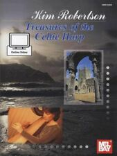 Treasures of the Celtic Harp Sheet Music Book with Audio by Kim Robertson