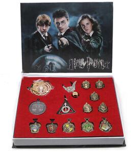 Harry Potter Badge Hogwarts School Vintage Wax Seal Stamp Set Collection Gift