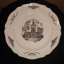 """Collector Plate """"Philadelphia� The State House Independence Hall John Wanamaker"""