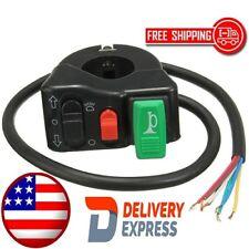 OnOff Switch 7/8inch Motorcycle Handlebar Headlight Horn Turn Signal Hi/Lo Beam