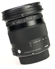 Sigma DC 17-70mm F2.8-4 Macro OS Contemporary Lens - Nikon + F/R Caps - VGC