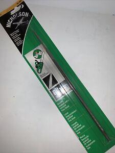 "NEW Round Chainsaw File Single Cut 8"" X 7/32"" Nicholson Black Diamond 01888"