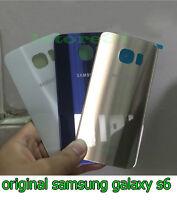 ORIGINAL vitre arrière couvercle cache batterie Samsung Galaxy s6 G920F G920A