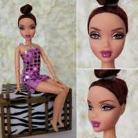 Mattel Barbie My Scene Boutique bling Chelsea Customized Myscene Doll Jointed