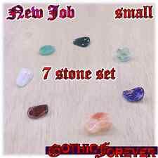 New Job Career Study Healing Gemstone Kit Set of 7 10mm SMALL Stones