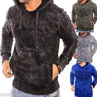 ZAHIDA Herren Damen Pullover Pulli Kapuzen Sweatshirt Hoodie Top Wow Design NEU