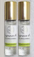 2 Bath & Body Works Simplicity Carrier Oil Rollerball Fragrance Free .27oz NEW