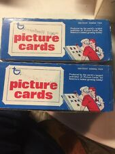 1987 Topps Baseball Trading Cards Lot Of 2 Vending Boxes 1000 Cards BEAUTIES