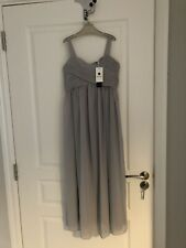 grey flowergirl dress Age 10