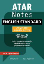 Atar Notes English Standard Complete Course Notes NSW Year 12 2019-2020
