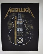 METALLICA - Hetfield Guitar - Backpatch - 30 cm x 36,3 cm - 164627