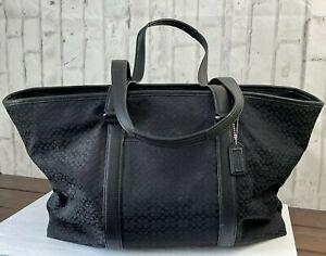 Coach XL Transatlantic Weekender 77012 Bag Travel Luggage Carryon Tote Handbag