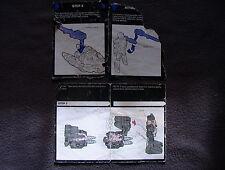 Transformers G1 VINTAGE Hasbro Inst. Book Scrap lot of 2 Topspin/Submarauder C-3