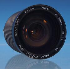 Vivitar 28-200mm 1:3,5-5,3 Objektiv Lens für Pentax-K - 31234