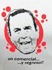 Peru T-shirt Un Comercial y Regreso! Small S Trampolin a la Fama Peruvian TV