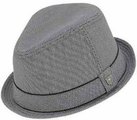 Peter Grimm Duke Fedora Hat, Black S/M