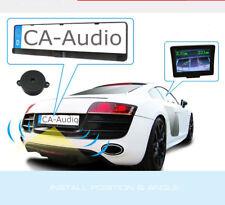 Einparkhilfe Kennzeichen Nummernschild Halterung Rückfahrsystem Funk kabellos