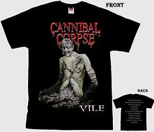 CANNIBAL CORPSE -Vile- marijuana-themed death metal band,T_shirt-SIZES:S to 6XL