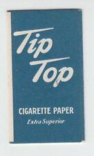 """[B68644] 1940's LIGGETT & MYERS TOBACCO CO. """"TIP TOP"""" CIGARETTE PAPER FOLDER"""