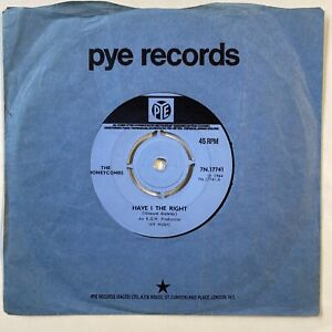 THE HONEYCOMBS - HAVE I THE RIGHT (THIS IS THE RARER BLUE LABEL) PYE RGM MEEK