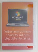Microsoft Windows 7 Ultimate 32 Bit System Builder Vollversion Deutsch