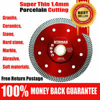 "115mm 4.5""Turbo Angle Grinder Blad Porcelain Thin Diamond Dry Cutting Tile Disc"