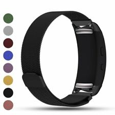 For Samsung Gear Fit2 / Pro Replacement Metal Milanese Band Strap