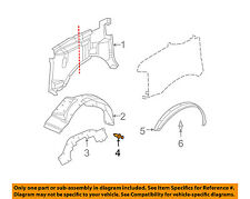GM OEM Quarter Panel-Wheelhouse Liner Retainer 1605396
