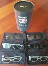 Genuine LG AG-F216 CINEMA 3D GLASSES FAMILY PACK 6 PAIRS Free Shipping in OZ!!!