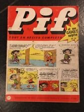 1969 PIF GADGET n°15 ABE+/ BE Bob Mallard totoche Jeux Non Faits Vaillant Bd